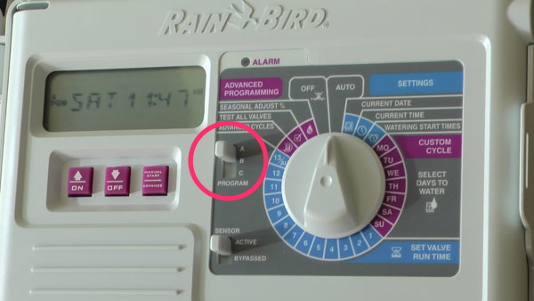 how to add a station with decoder rainbird