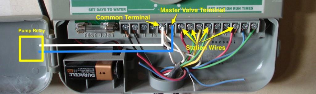 Sprinkler Master/Pump valve wiring – iScaper Blog   Sprinkler Fuse Box Wire      iScaper